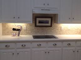 kitchen ivory faux stone wall pane for kitchen with lighting