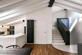 renovation and extension of an old attic into a contemporary