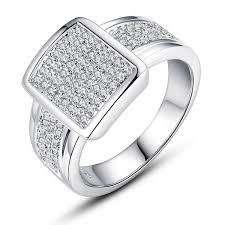large silver rings images Wish 925 sterling silver diamond engagement ring fashion jewelry jpg