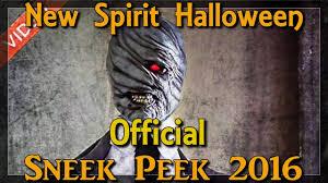spirit halloween official sneak peek youtube