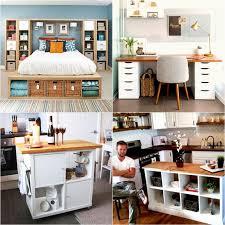Ikea Diy Desk 20 Smart And Gorgeous Ikea Hacks Great Tutorials A
