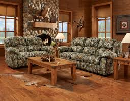Rustic Leather Living Room Furniture Decorating Interesting Decorative Camo Couch For Unique Living