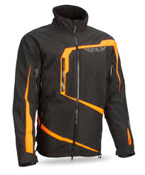 mtb jackets carbon black orange jacket fly racing motocross mtb bmx