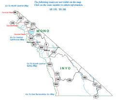 nevada road map highway information area maps caltrans district nine