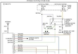 wiring diagram for 1997 honda civic radio wiring diagram