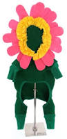 Sunflower Halloween Costume Flower Costume Small Dogs Flower Small Dog Halloween Costumes