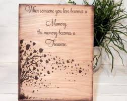 personalized in memory of gifts memorial gift etsy