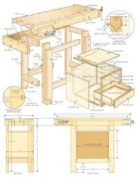 Build Wood Workbench Plans by 94 Best Workbench Images On Pinterest Woodwork Workbench Plans