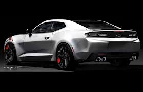Redline Muscle Cars - chevrolet camaro red line series concept 2016 muscle cars news