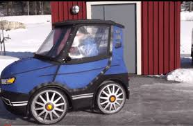 a swedish inventor s bicycle car could be the winter