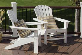 Colored Adirondack Chairs Furniture Double Cape Cod Adirondack Chair By Trex Outdoor