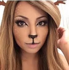 Wolf Halloween Costume 16 Deer Makeup Antler Ideas Cutest Halloween Costume
