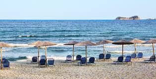 Beach Sun Umbrella Free Images Sea Coast Ocean Horizon Shore Summer Vacation