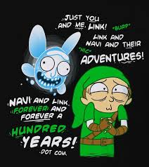 Forever And Ever Meme - link and navi forever and ever rick and morty know your meme