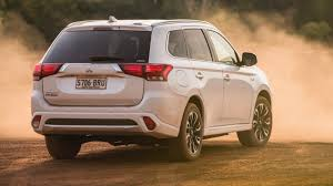 mitsubishi cars white 2017 mitsubishi outlander phev exceed review chasing cars