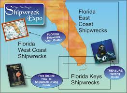 Florida Map East Coast Florida Shipwrecks Wreck Directory