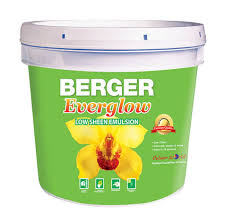 berger everglow low sheen wall paint berger paints in trinidad