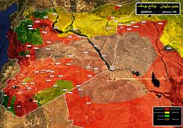 Syria Map by Syria Map Update 31 7 2017 Muraselon