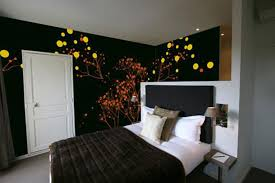 Adorable  Bedroom Wall Designs Paint Inspiration Design Of Best - Ideas for bedroom wall art