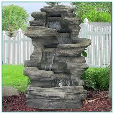 modern garden fountains water features