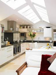 kitchen with vaulted ceilings ideas 25 captivating ideas for kitchens with skylights skylight
