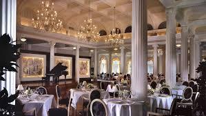 The Dining Rooms Hot Springs Va Restaurants The Omni Homestead Resort