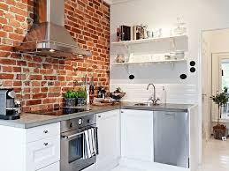 brick kitchen ideas collection in brick wall in kitchen and 47 best kitchen design
