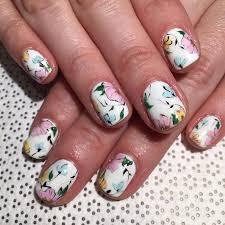 673 best fabulous floral nail art images on pinterest floral