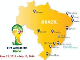 city map of brazil the idiot s world cup 2014 primer vangabonds