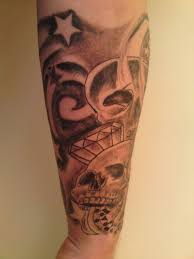 half sleeve picture tattoos for lower arm design idea for