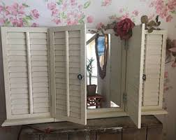 Shabby Chic Shutters by Hand Painted Shutter Etsy