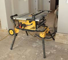 Job Site Table Saw Dewalt Dwe7491rs Jobsite Table Saw Tools Of The Trade Table