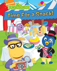 compare snack big book backyard adventures