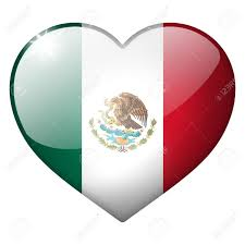 mexico heart button stock photo picture and royalty free image