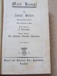 mein kampf 1939 hurst u0026 blackett edition amazon co uk adolf