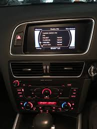 oem dvd player gps navigation system for 2008 2013 audi q5 8r with