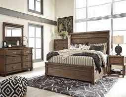 Zelen Bedroom Set Dimensions Leystone Dark Brown Panel Bedroom Set From Ashley Coleman Furniture