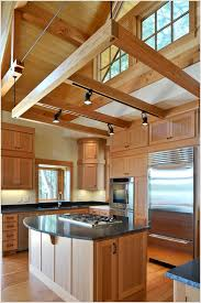 Kitchens With Track Lighting by Living Rooms With Beams That Will Inspire Attic Conversion