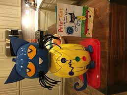 book character pumpkin project pete the cat school