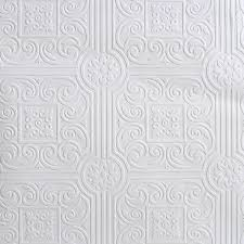 shop sunworthy white peelable vinyl prepasted classic wallpaper at
