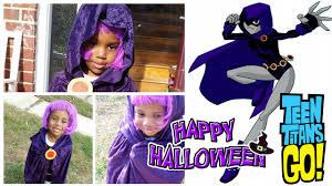 Raven Teen Titans Halloween Costume Raven Teen Titans Happy Halloween Ryagen3d