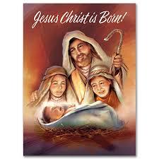 shepherds worshiping baby jesus card