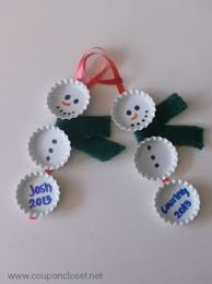 12 days of ornaments day 10 diy bottle cap