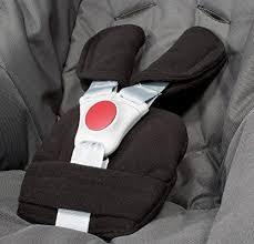 protège siège auto bébé bybum set de coussins protège ceinture universel pour coque