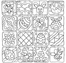 themed tiles clipart of black and white easter and themed tiles
