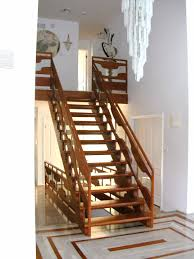 amazing wooden stairs design with modern and natural wooden stairs