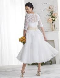 tea length wedding dress plus size pluslook eu collection