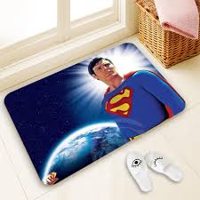 superman home decor h p759 custom superman 9 doormat home decor 100 polyester pattern