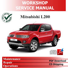 mitsubishi pakistan workshop service repair pdf manual mitsubishi l200 2 5l 4d56 td