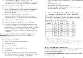 tabla de ingresos para medical 2016 conozca sus derechos solicitando beneficios públicos en nuevo
